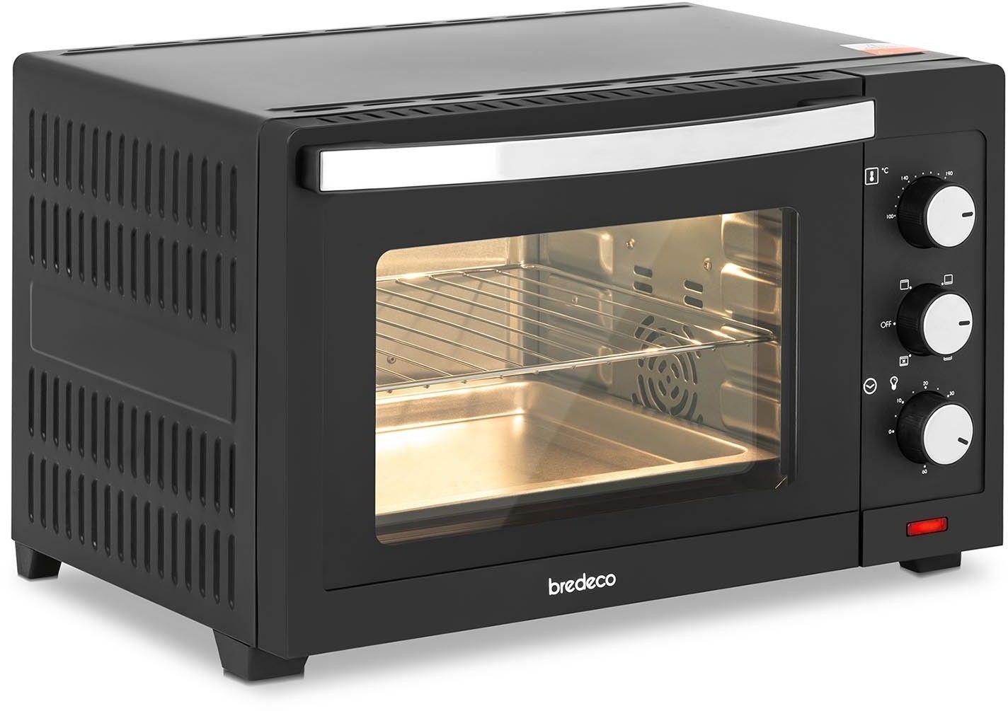Piekarnik elektryczny - 1600 W - 30 l - bredeco - BCMO-30L - 3 lata gwarancji/wysyłka w 24h