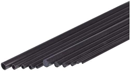 Jamara jamara230064 6,1 x 8 x 1000 mm rura z włókna węglowego
