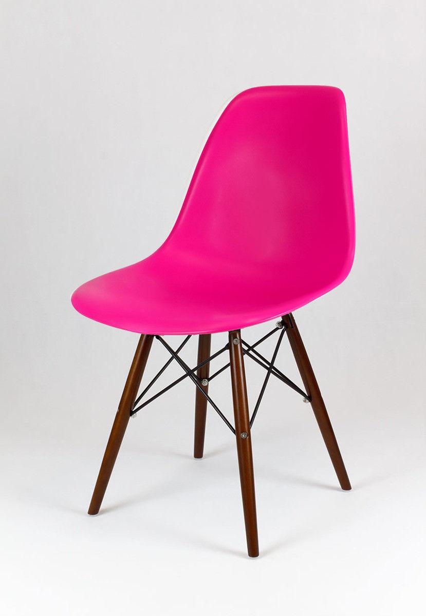Sk Design Kr012 Ciemnoróżowe Krzesło Wenge