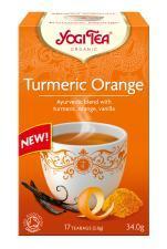 Herbatka KURKUMA POMARAŃCZA BIO (17 x 2 g) 34 g Yogi Tea