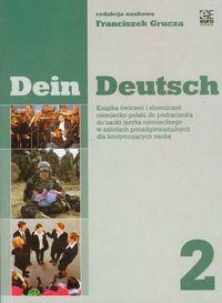 Dein deutsch 2 książka ćwiczeń i słowniczek kontynuacja