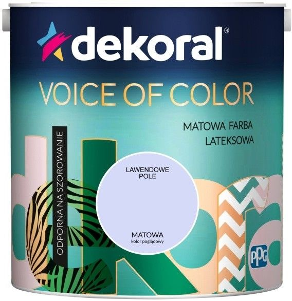 Farba Dekoral Voice of Color lawendowe pole 2,5 l