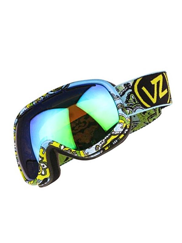 Vonzipper CHAKRA AMOEBA YELLOW womens snowboard goggles
