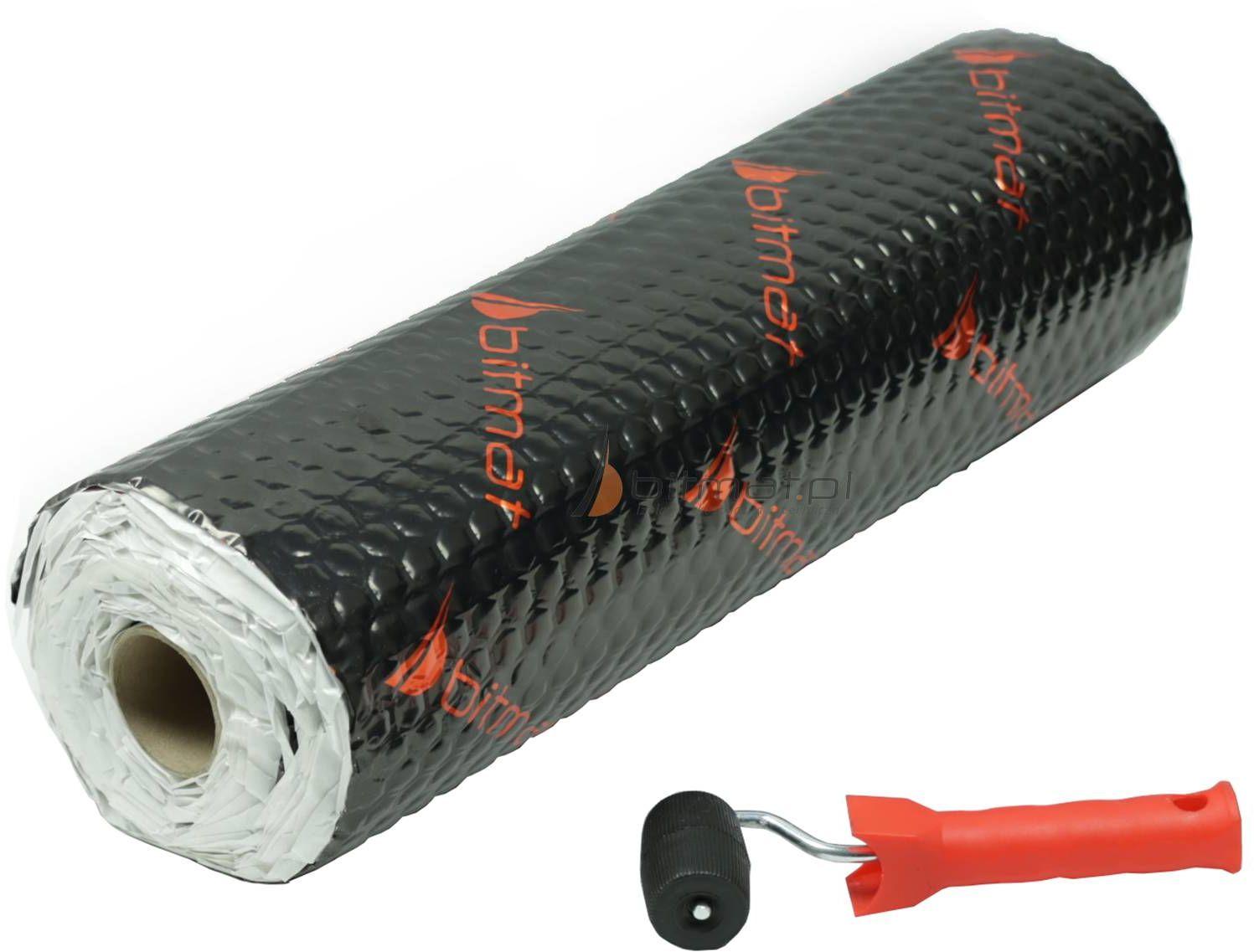 AB-25 AB25 Premium light wyciszająca alubutyl 2,5 mm z rolki 3,5 m2