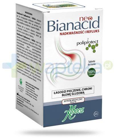 Aboca NeoBianacid Nadkwaśność i Refluks 45 tabletek do ssania
