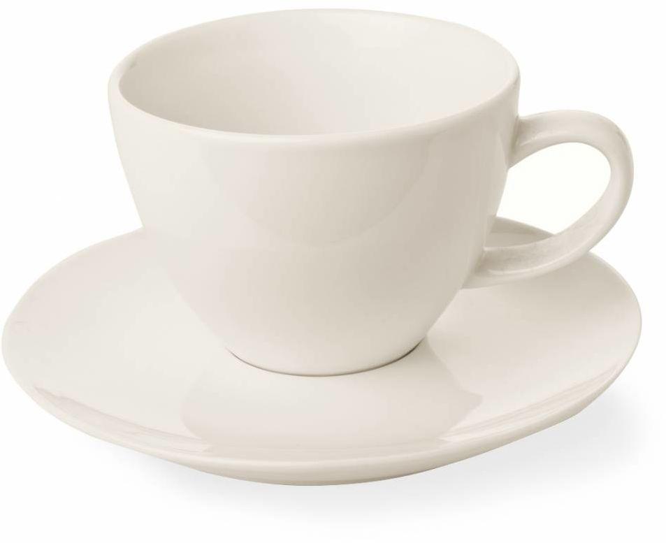 Filiżanka elegancka ze spodkiem Crema 70 lub 230 ml