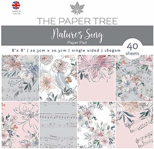 The Paper Boutique Drzewo Nature''s Song 20 cm x 20 cm podkładka papierowa