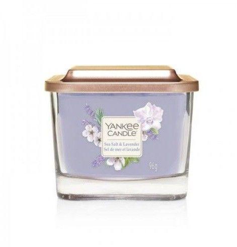 Yankee Candle Yankee Candle Elevation Sea Salt & Lavender świeczka zapachowa 96 g