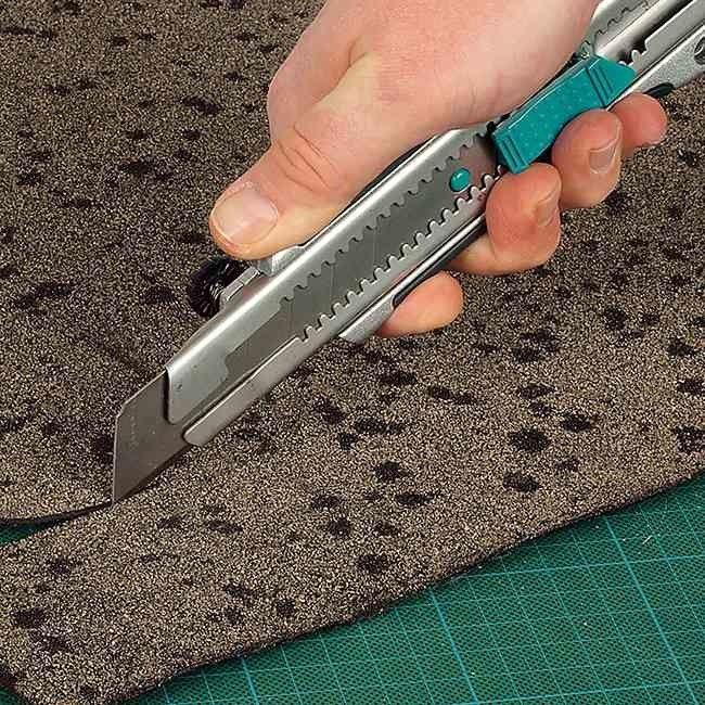 Nóż łamany Wolfcraft 25 mm