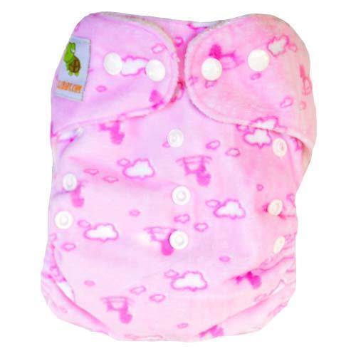 pieluszka wielorazowa BAMBOO różowy wzór