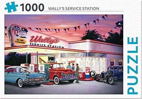 Rebo legpuzzel 1000 stukjes - Wally''s service station