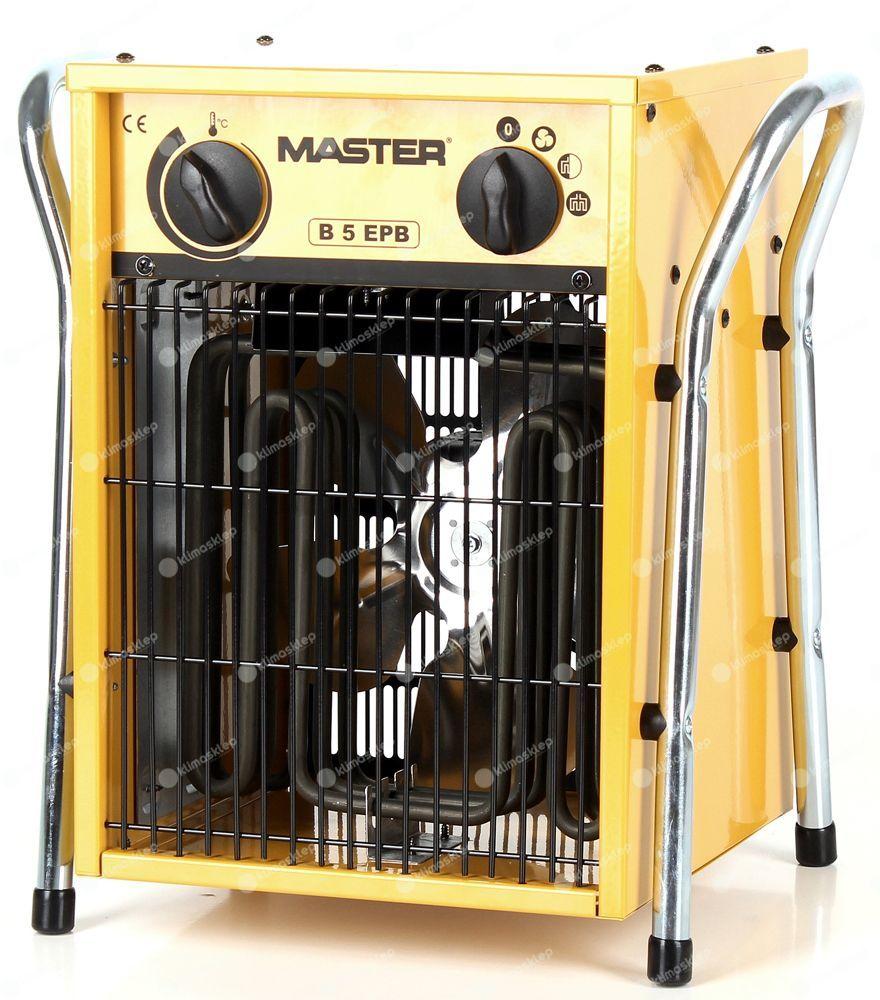 OUTLET: Nagrzewnica elektryczna Master B 5 EPB - 5kW (dmuchawa elektryczna)