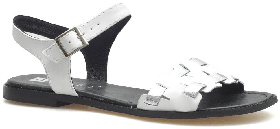 Sandały Nessi 20710 Białe lico