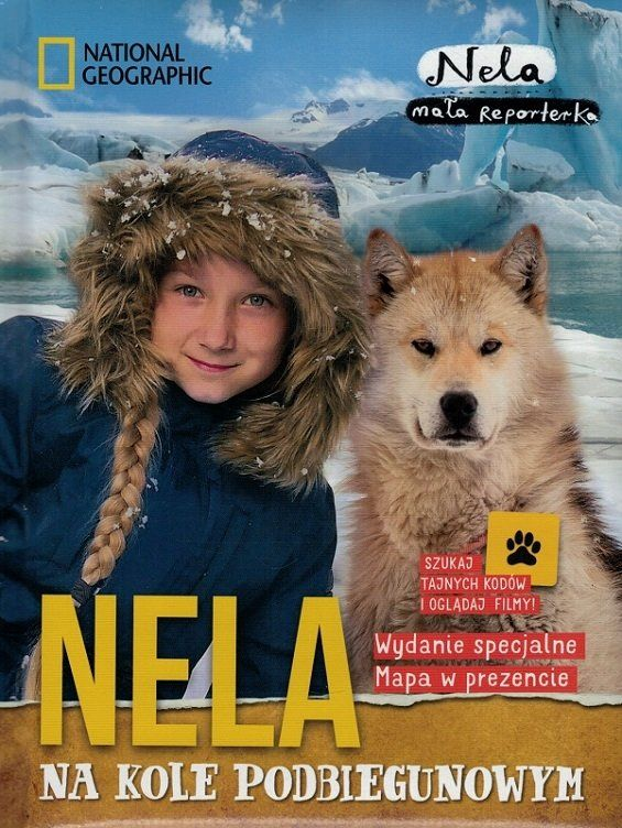 Nela na Kole Podbiegunowym - Nela mała reporterka - mapa w prezencie