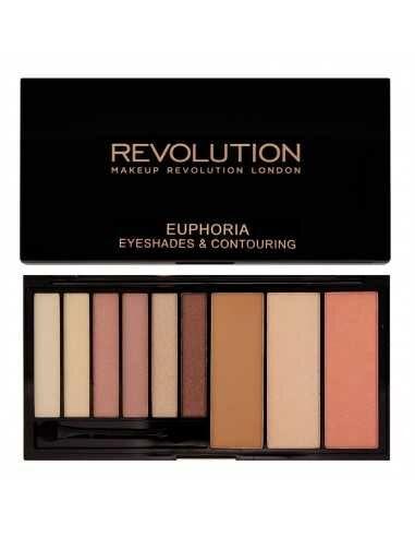 Makeup Revolution paleta cieni Euphoria Bare
