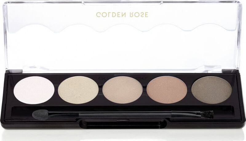 Golden Rose - Professional Palette Eyeshadow - Paleta 5 cieni do powiek - 113 - OMBRE MATTE