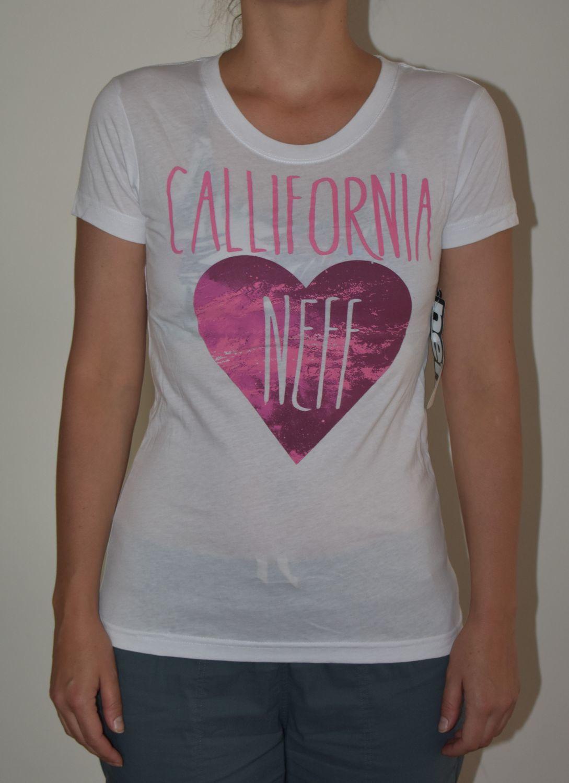 t-shirt damski NEFF LIZ/WHITE
