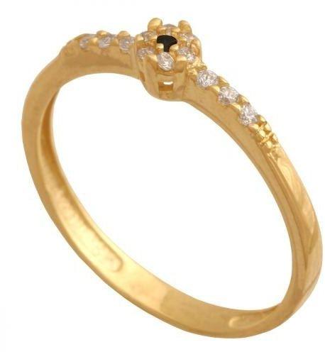 Złoty pierścionek młodzieżowy Pk813