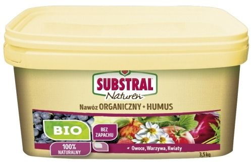 Nawóz organiczny + humus  naturen  3,5 kg substral