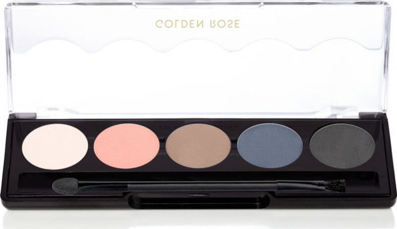 Golden Rose - Professional Palette Eyeshadow - Paleta 5 cieni do powiek - 112 - STORMY MATTE