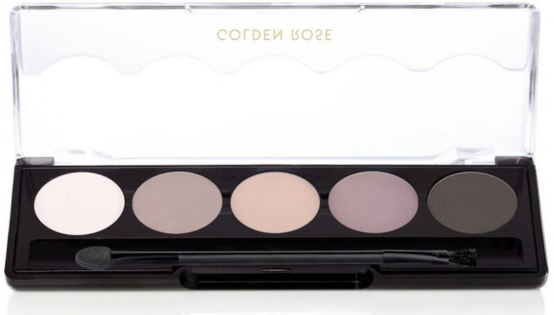 Golden Rose - Professional Palette Eyeshadow - Paleta 5 cieni do powiek - 111 - MISTY MATTE