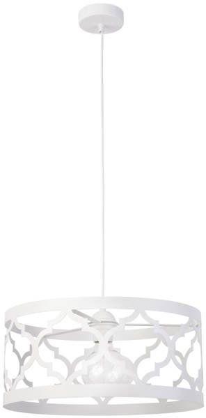 Orientalna lampa wisząca MODUŁ MAROKO ZWIS L biały 31589
