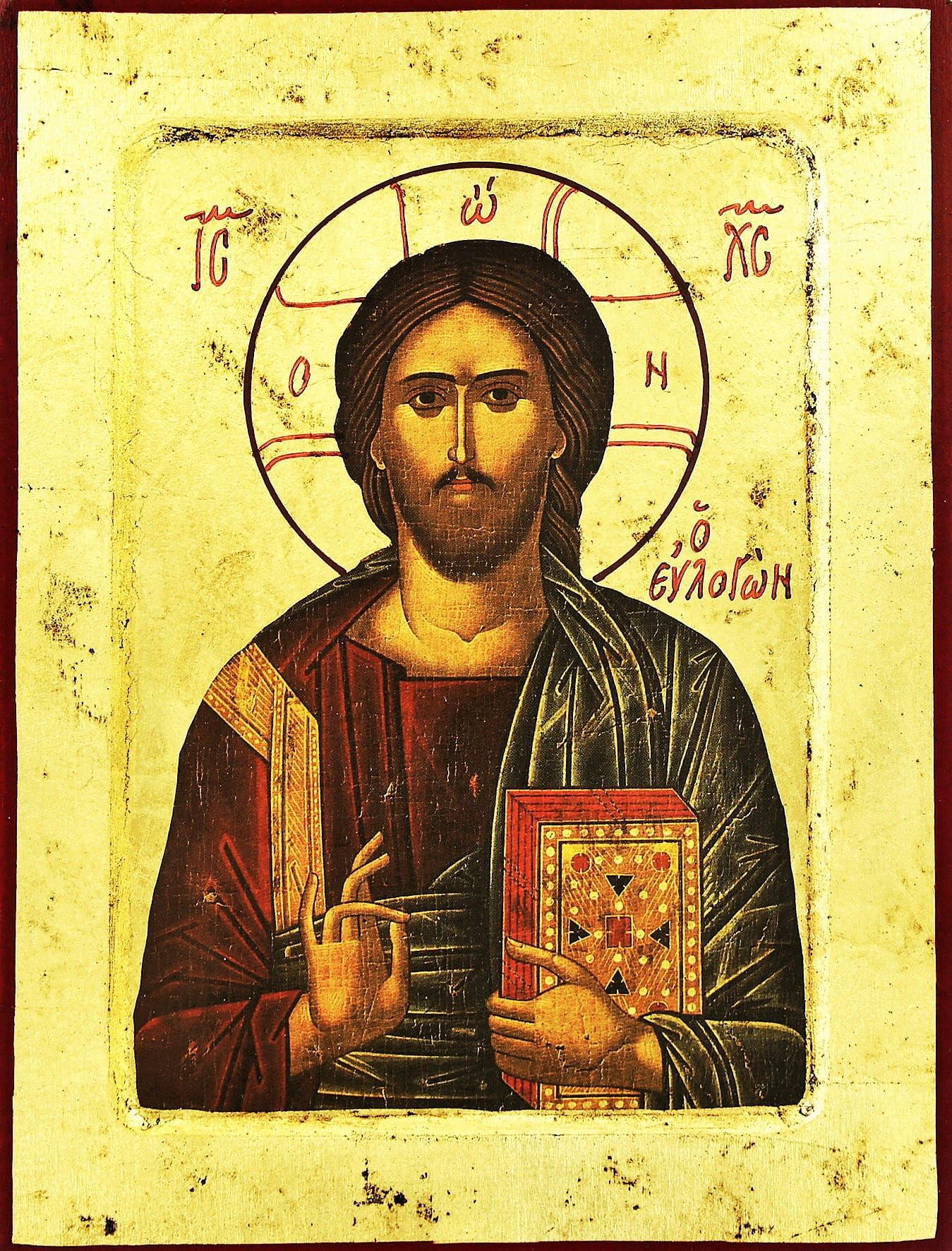 Ikona religijna Chrystus Wszechwładca