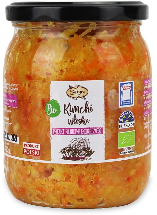 Kimchi włoskie bio 450 g - sątyrz