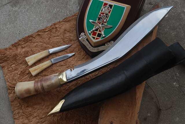 Historyczny nóż Gurkhów khukri II W.Ś. NKH-GAEI-05