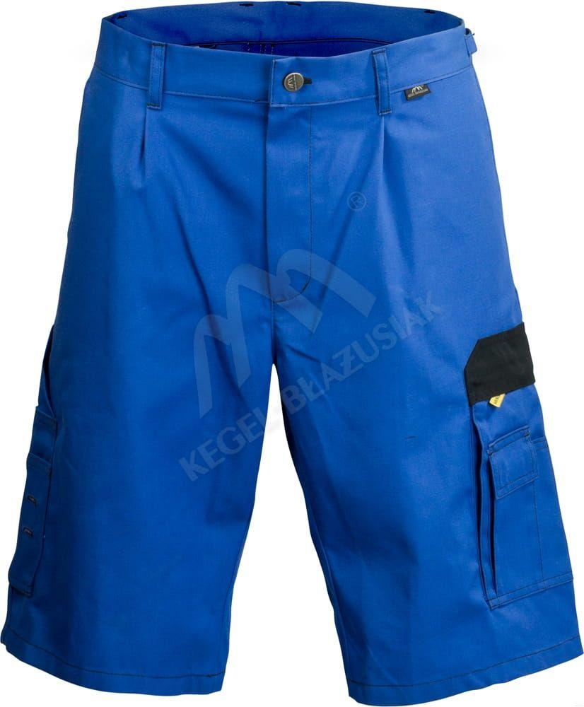 Spodenki szorty Work niebieskie