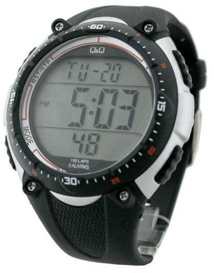 Zegarek Q&Q M010-002 Lap Memory 150