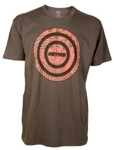 Nitro snowboardowa męska koszulka Manipulation S/S, Charcoal, XL