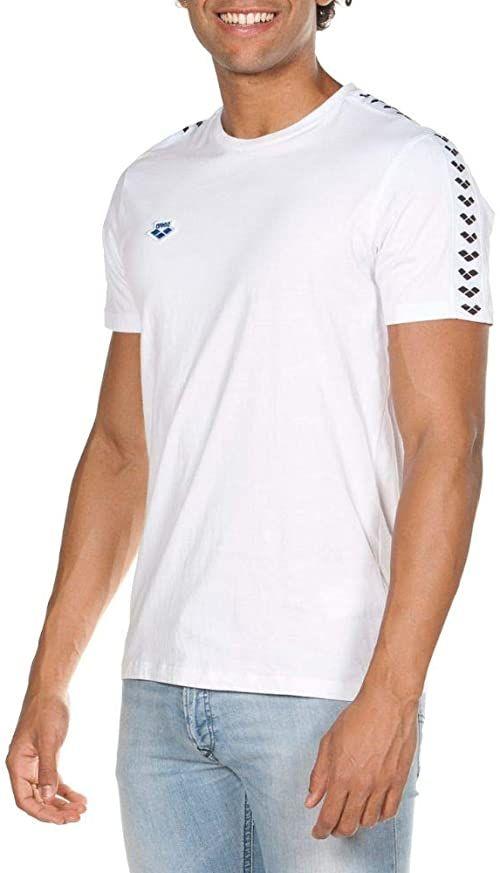 Arena Męska koszulka klubowa Arena Men Icons White-white-black S