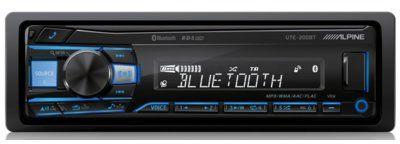 Radioodtwarzacz samochodowy ALPINE UTE-200BT. > DARMOWA DOSTAWA ODBIÓR W 29 MIN DOGODNE RATY