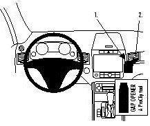 ProClip do Volkswagen Touareg 11-18