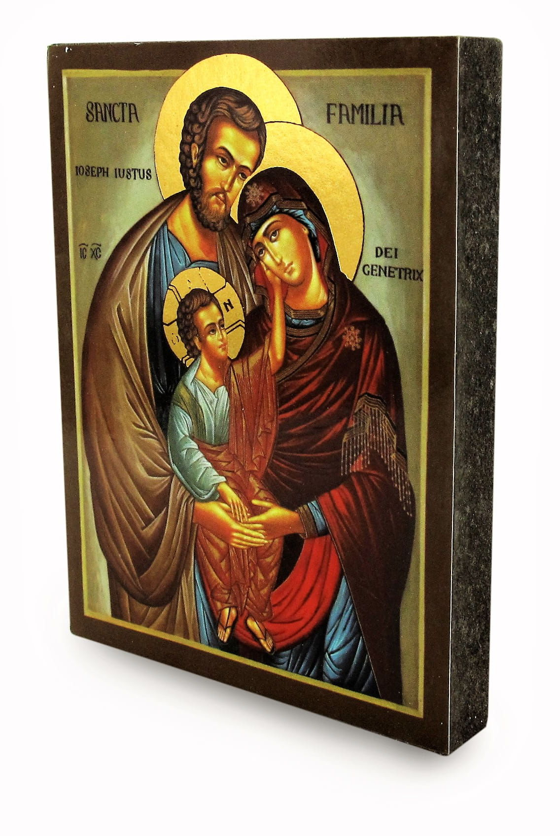 Włoska ikona Święta Rodzina