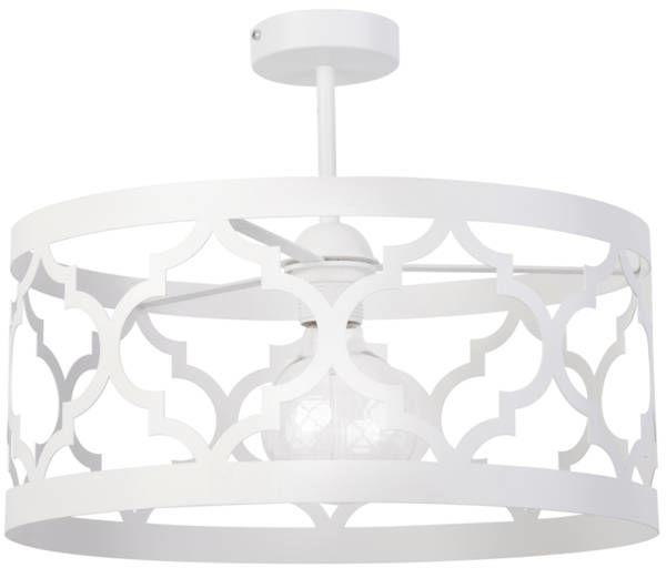 Orientalna lampa sufitowa MODUŁ MAROKO PLAFON L biały 31595