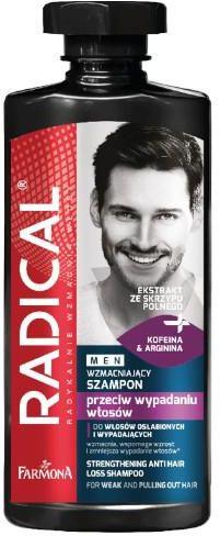 Farmona Radical Men wzmacniający szampon przeciw wypadaniu włosów 400 ml