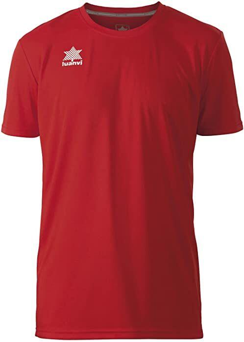 Luanvi Pol koszulka męska z krótkim rękawem L czerwona
