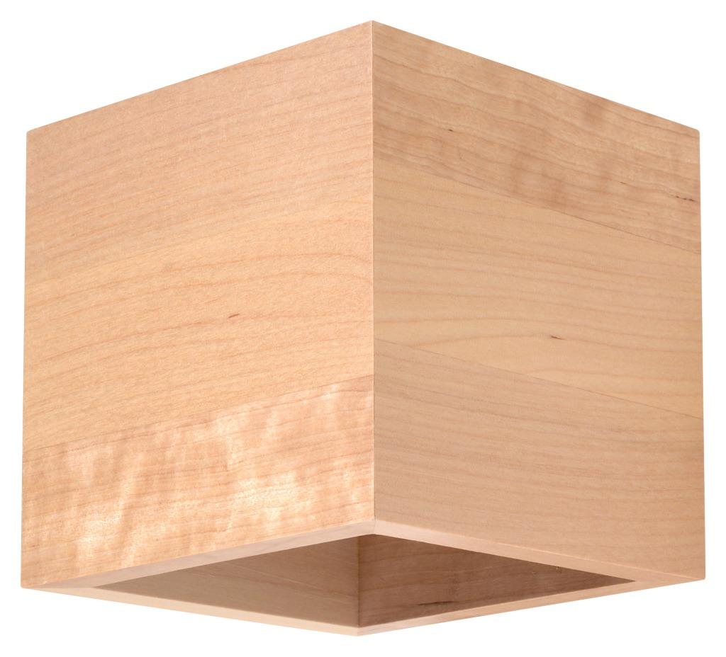 Kinkiet Quad drewno SL.0491 - Sollux Do -17% rabatu w koszyku i darmowa dostawa od 299zł !