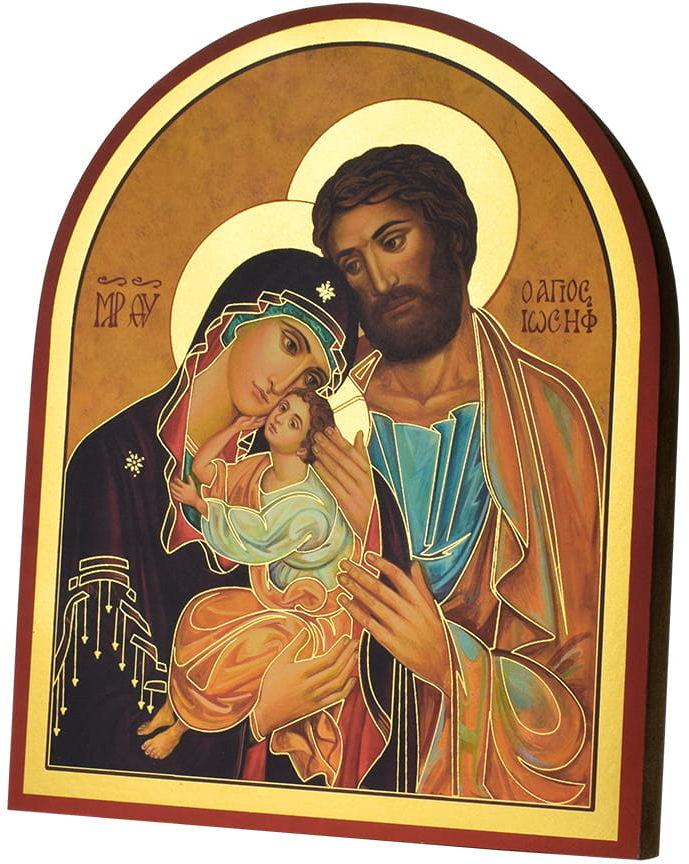 Włoska ikona Świętej Rodziny
