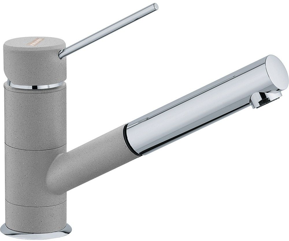 FRANKE Bateria SIRIUS Top Pull-Out chrom/kamienny szary 115.0476.650 - (22)-266-82-20* Zapraszamy :)