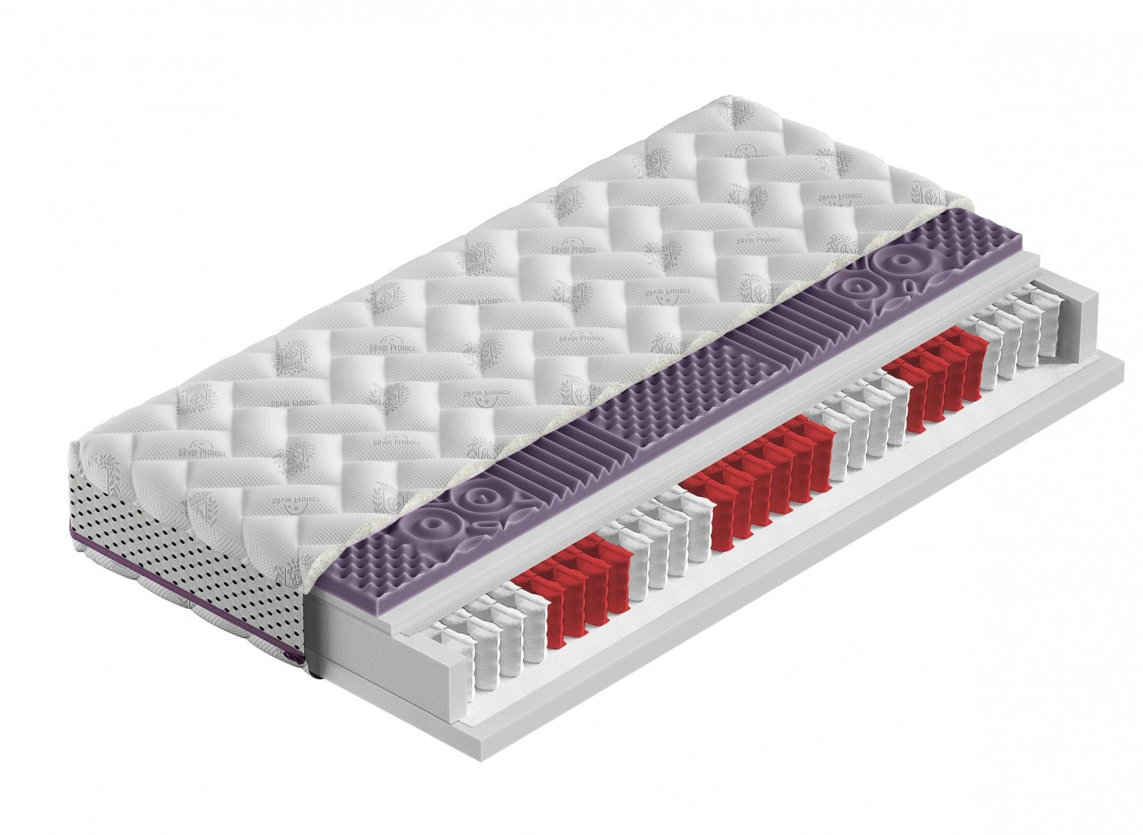 Materac Kieszeniowy CLEO 140x190 - Antybakteryjny