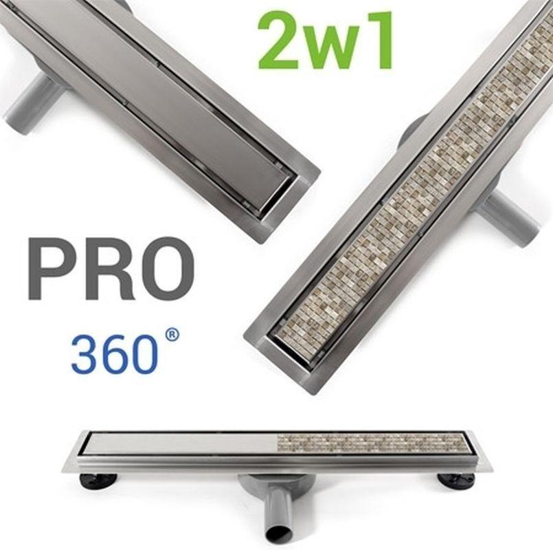 Odpływ liniowy Neo&Pure N PRO 800 Rea