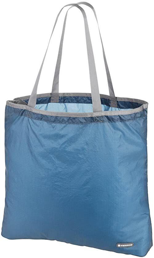 Ferrino Torba na zakupy składana Lydd, niebieska, 15 litrów