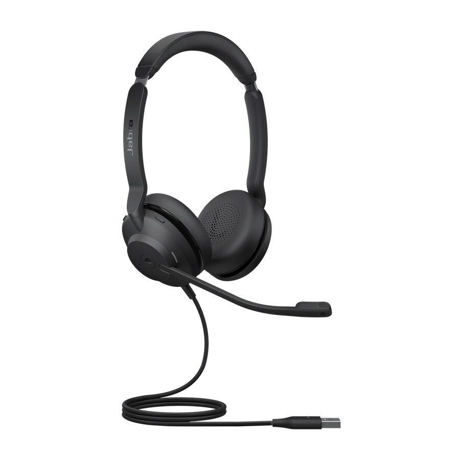 Jabra Evolve2 30 MS Stereo USB-A Zestaw nagłowny przewodowy na dwoje uszu