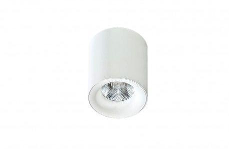 Plafon Mane AZ2845 AZzardo okrągła oprawa w kolorze białym