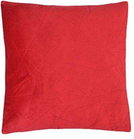 Home Maison poduszka, motyw 09416-0-AL polar technika cięcia laserowego, 45 x 45 cm, papryka