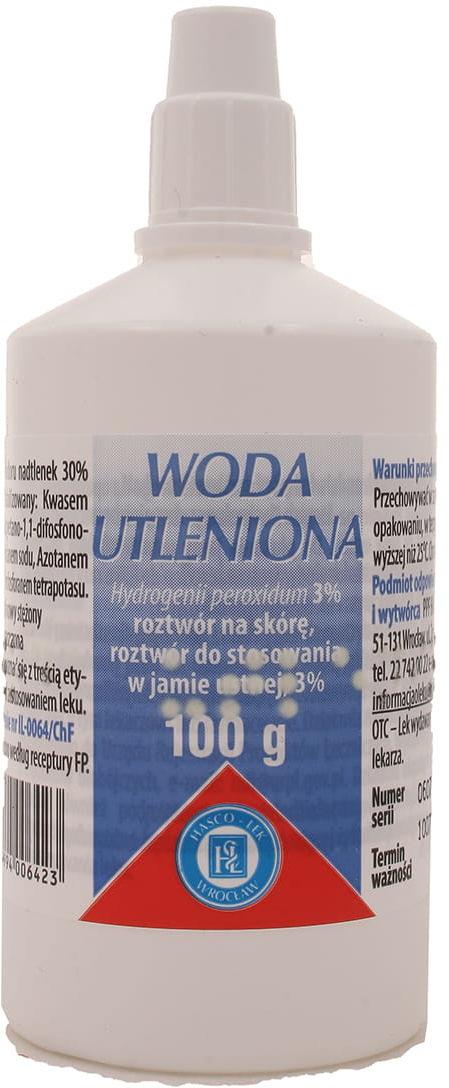 Woda utleniona 3% - Hasco-lek - 100 g