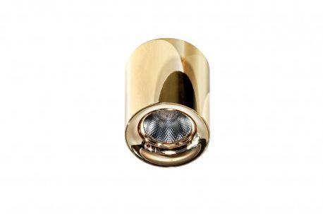 Plafon Mane AZ2846 AZzardo okrągła oprawa w kolorze złotym